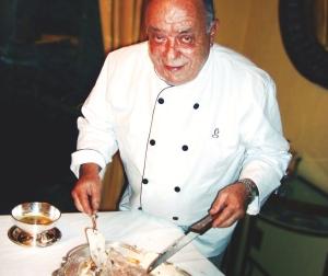 Carlos Brancante Cozinhando a Bordo