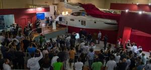 Coquetel de lançamento do Azimut 42 no SP Boat Show