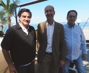 """Intech Boating """"Meeting Sessa"""" Marcelo Galvão Bueno, Massimo Radice e José Neto"""