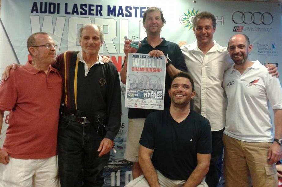 Equipe brasileira que disputou o Mundial Master de Laser