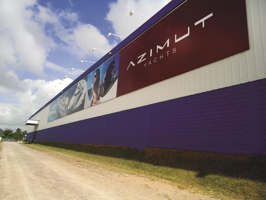Fábrica Azimut Yachts Brasil - Itajaí - SC