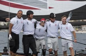 Extreme Sailing Series equipe suíça Alinghi - Nice - França
