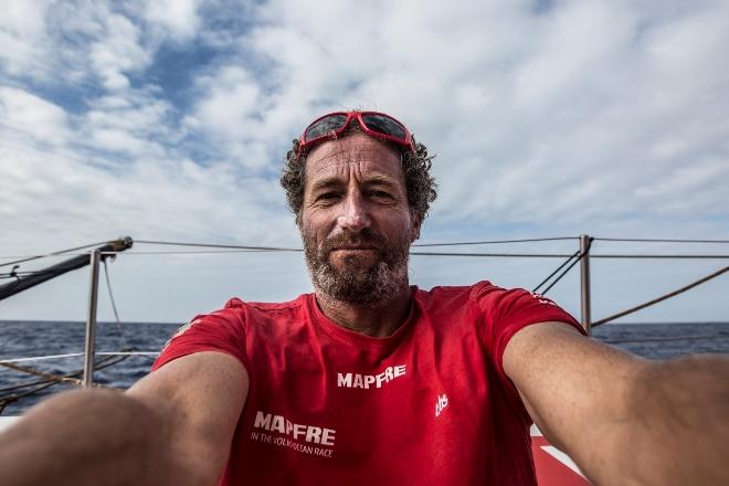 Volvo Ocean Race MAPFRE. Michel Desjoyeaux