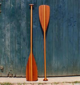 Remos em madeira para canoa canadense (par)