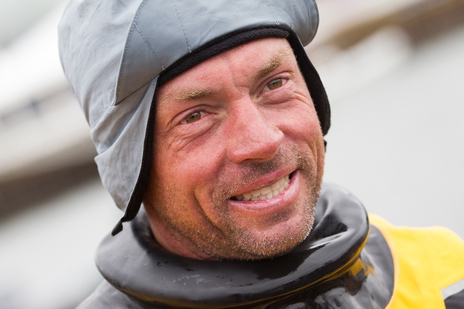 Volvo Ocean Race Rob Greenhalgh